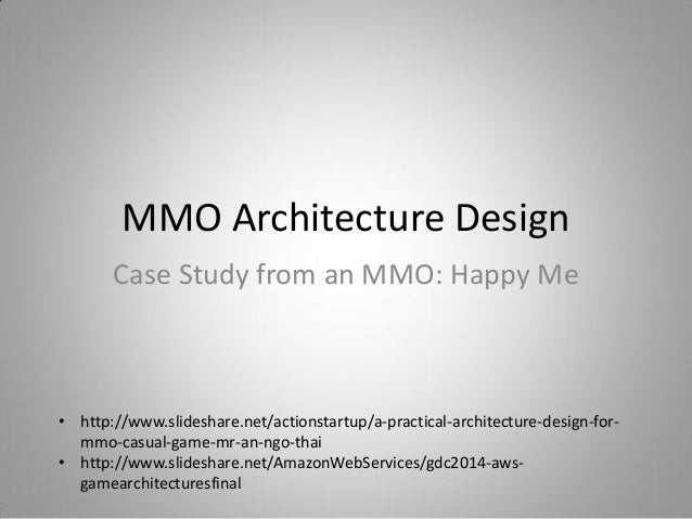@agatestudio MMO Architecture Design Andrew Publishing Agate Studio; 2.