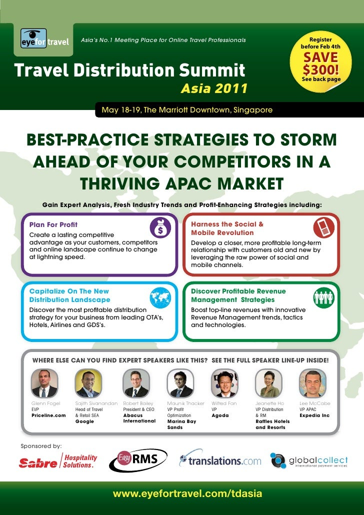 Asia's No.1 Meeting Place for Online Travel Professionals                               Register                          ...