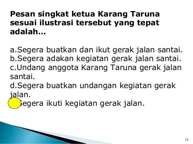 Bahasa Indonesia Soal Tds Paket A 2012
