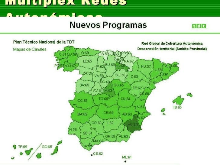 Multiplex Redes Autonómicas