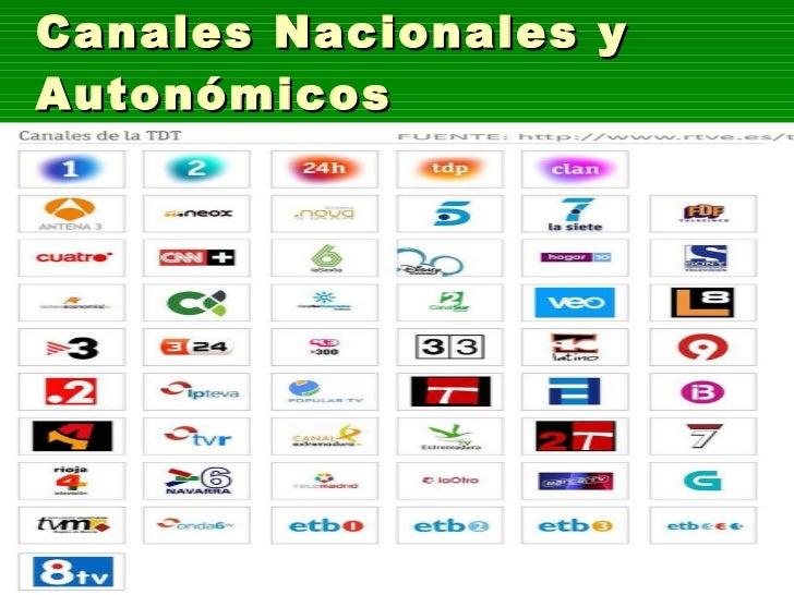 Canales Nacionales y Autonómicos