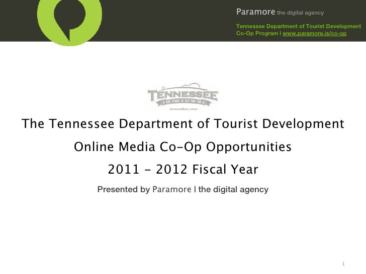 Paramore the digital agency                                             Tennessee Department of Tourist Development       ...