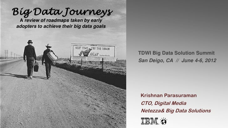 Big Data Journeys A review of roadmaps taken by earlyadopters to achieve their big data goals                             ...