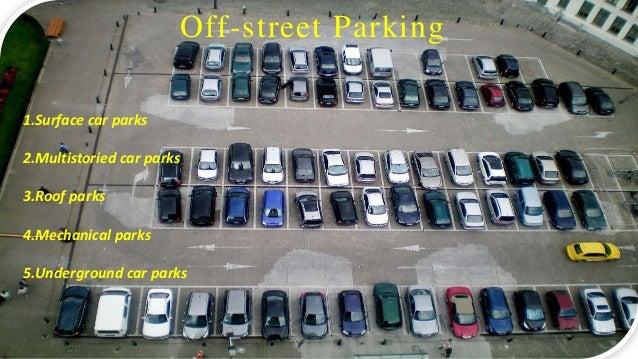 Types Of Parking Studies