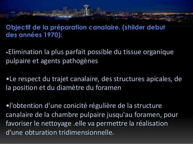 Solutions d'irrigation: Hypochlorite de sodium (Nao cl): o Chasse de débris du canal o Lubrification des instruments o Un ...