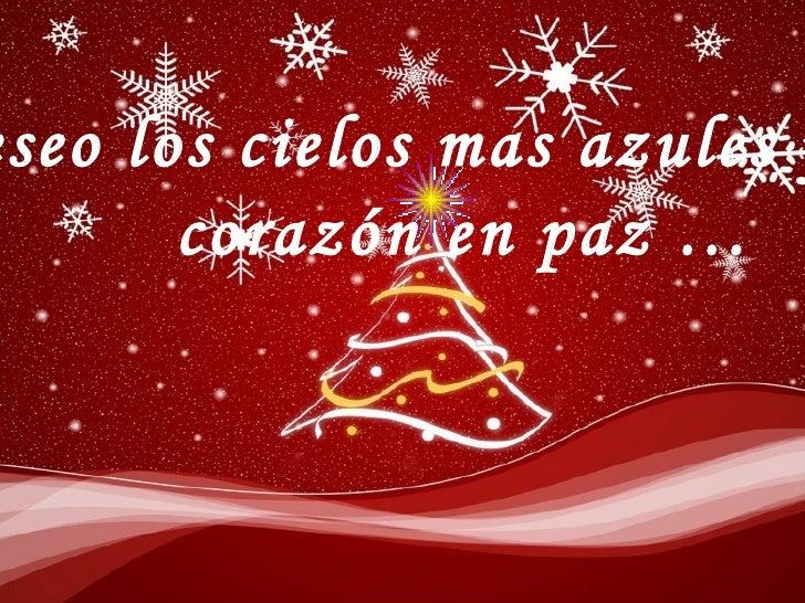 Te deseo feliz navidad 2009 - Deseos de feliz navidad ...