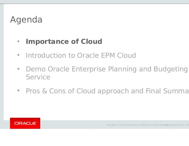 Trivadis techevent 2016 oracle enterprise performance for Oracle enterprise planning and budgeting cloud service documentation