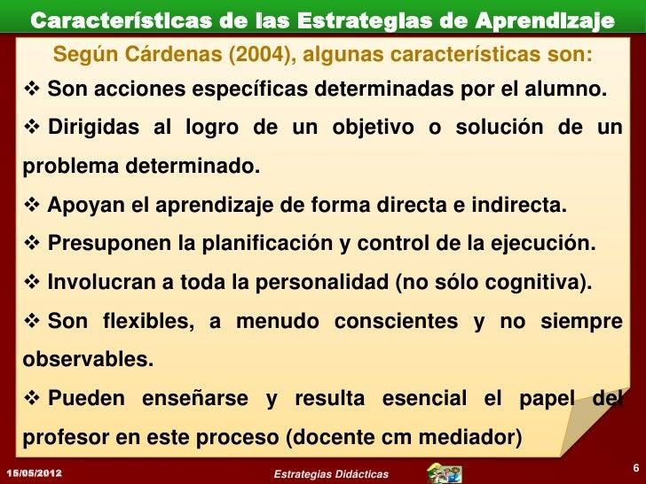 Estrategias Didácticas (Docentes) para formar                      competencias                                           ...