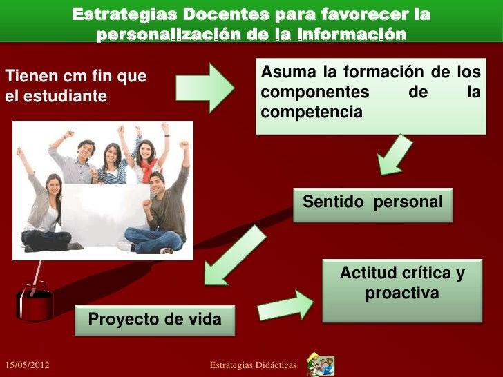 Estrategias Docentes para favorecer la cooperaciónBuscan las siguientes metas :1. Confianza entre los estudiantes.2. Comun...
