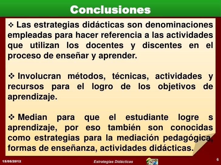 Bibliografía   Medina R, Antonio (2002). Didáctica   General . Pearson Education. España.   Pp 436.   Picado G, Flor M° (2...