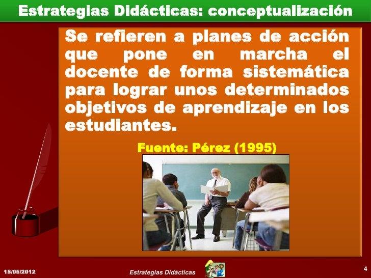 Resumiendo15/05/2012                                      5             Estrategias Didácticas