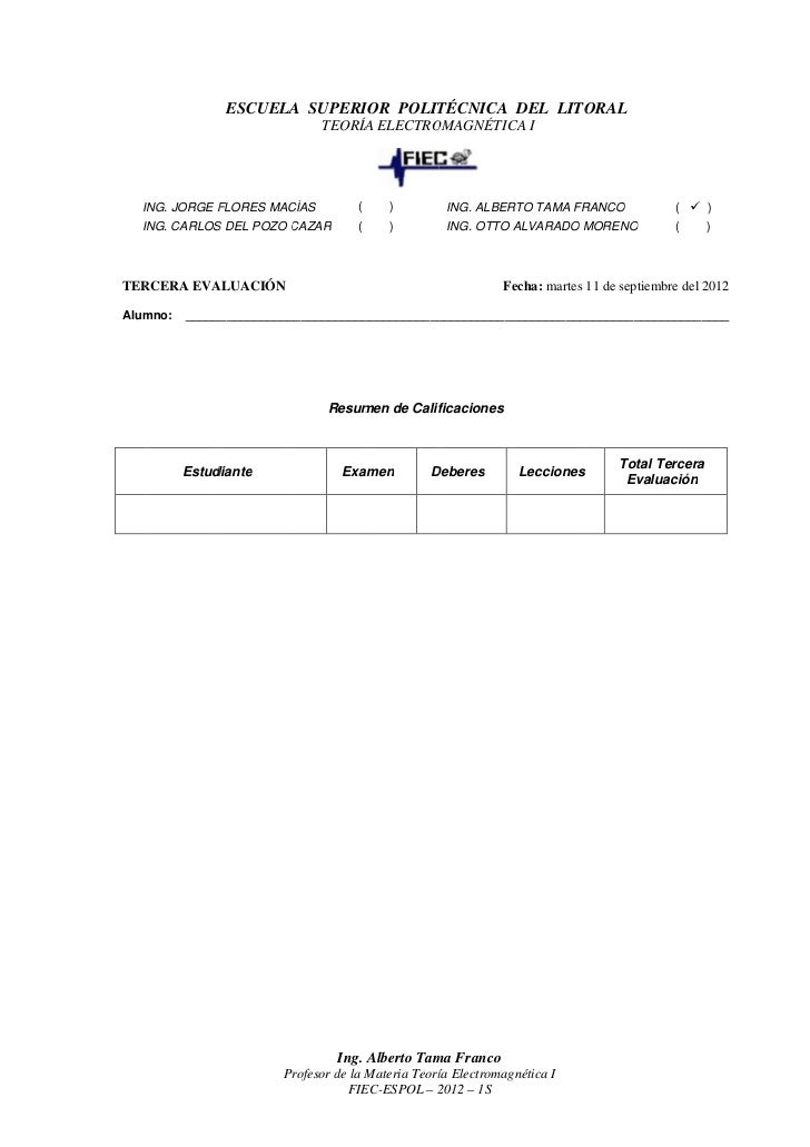 ESCUELA SUPERIOR P OLITÉCNICA DEL LITORAL                                 POLITÉCNICA      LITORAL                        ...