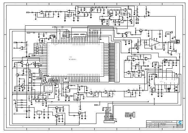 1 2 3 4 5 6 7 8 A B C D 87654321 D C B A 1 TSUEN SHING ELECTRONICS LTD 1 SCH-WT415-01A A Title Size: Model No.: Rev.: Shee...