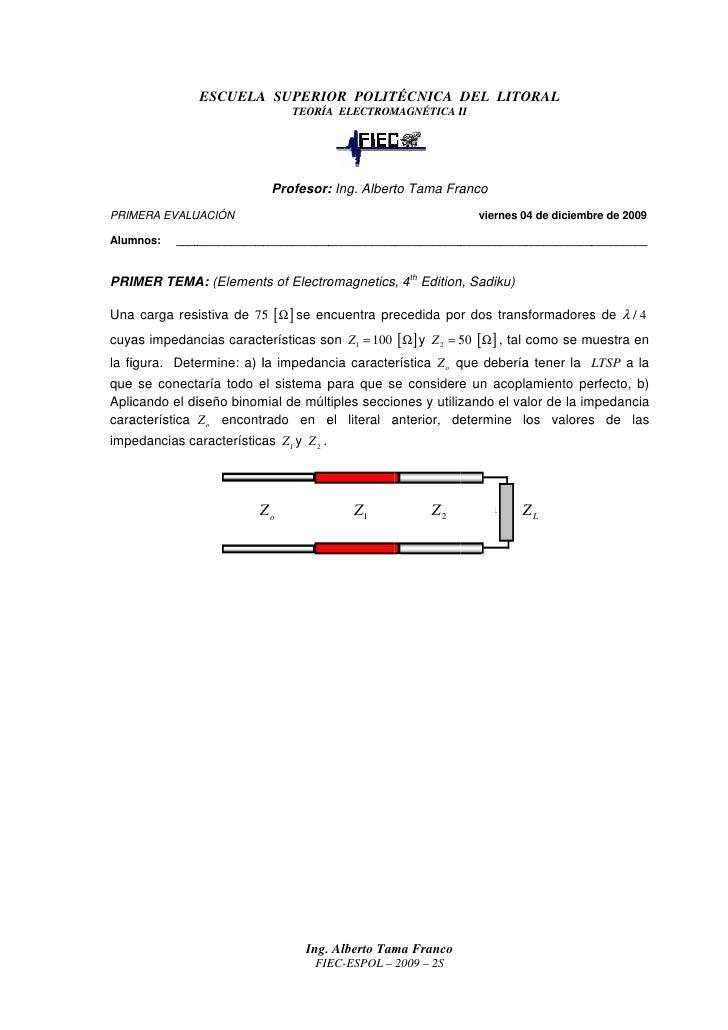 ESCUELA SUPERIOR POLITÉCNICA DEL LITORAL                                POLIT CNICA                               TEORÍA E...