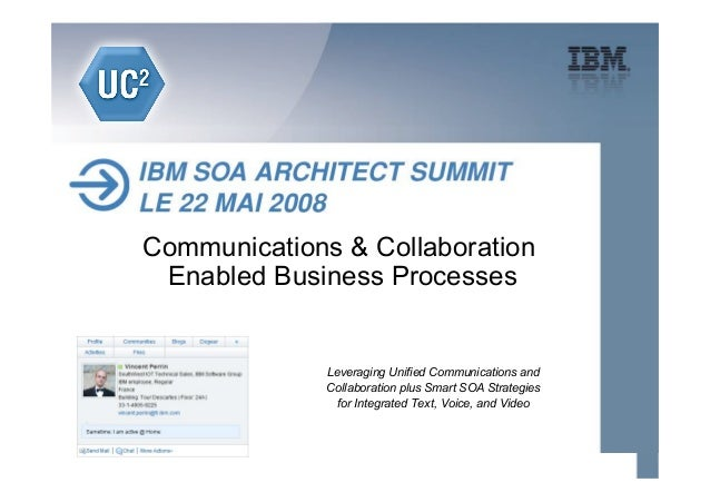 Communications & Collaboration Enabled Business Processes              Leveraging Unified Communications and              ...