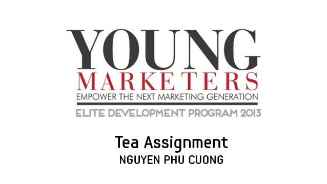 Young Marketers Elite Program _Tea Assignment_ Puku