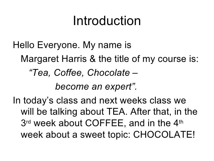 Tea And Coffee And Chocolate Class At Carnegie Mellon By Margarets Fine Imports In Pittsburgh , Tea Part One Slide 3