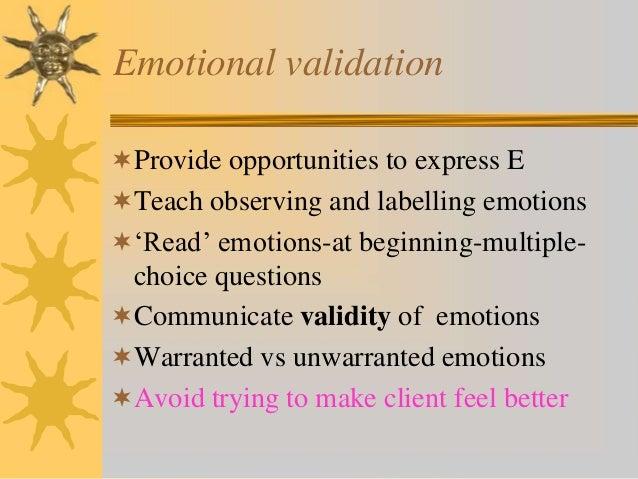Teach 4 validation