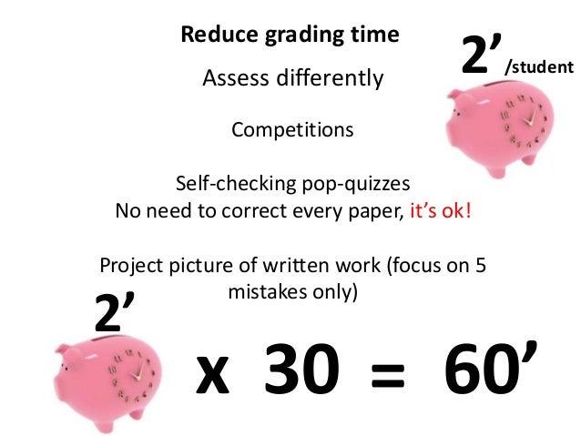 Teach better work less