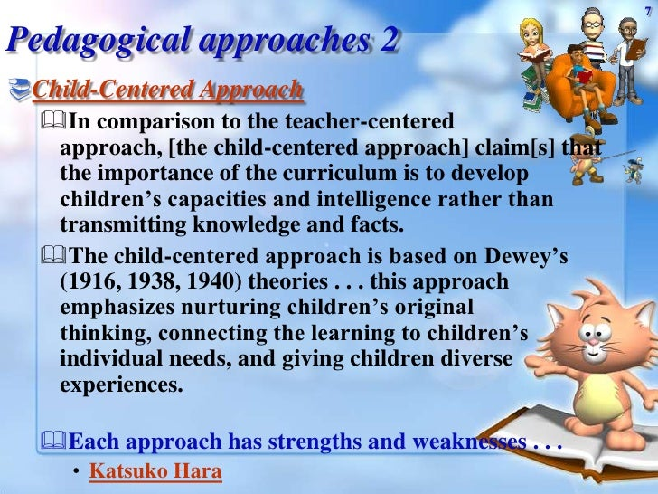 what is the importance of a child centred approach
