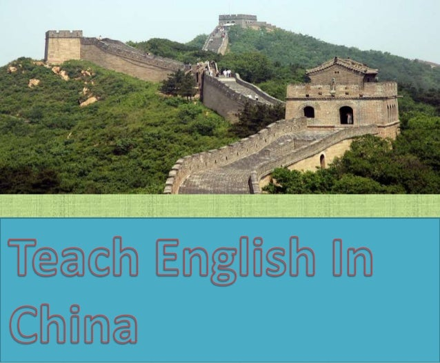 As other developing non-English speaking  countries China is hungry to learn English  Language. So it is perfect time to a...