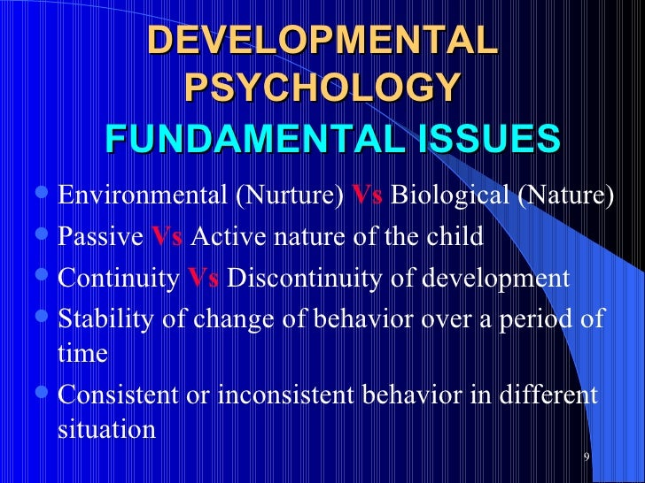 continuity vs discontinuity viewpoint of development Start studying dev psych ch 1 learn continuity vs discontinuity degree to which genetics and the environment influence behavior normally the view is that.