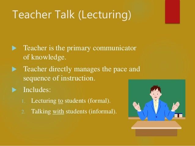 Teacher Centered Instructional Methodsstrategies