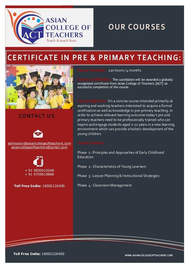 Teacher Training Course In Asia