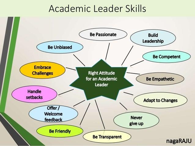 Teacher as an Academic Leader