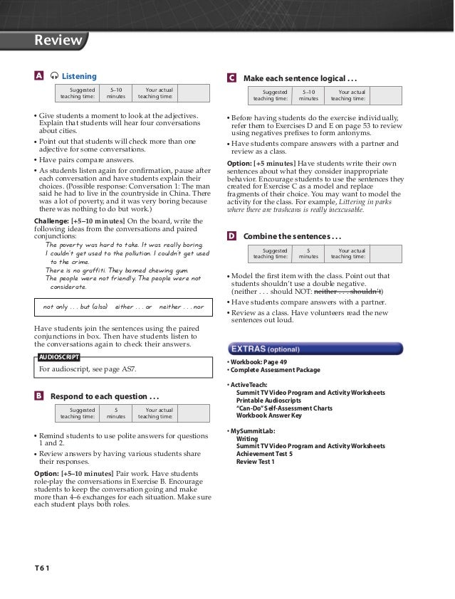 Teacherbooksample – Double Negative Worksheets