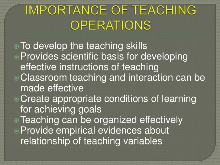 role of teacher in teaching learning process pdf