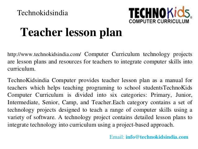 Teacher Lesson PlanComputer Learning CenterComputer WorksheetLesso