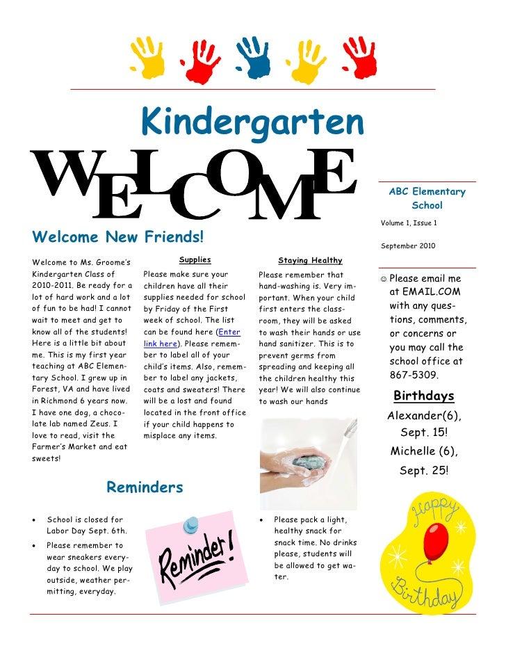 Teacher Newsletter(2)