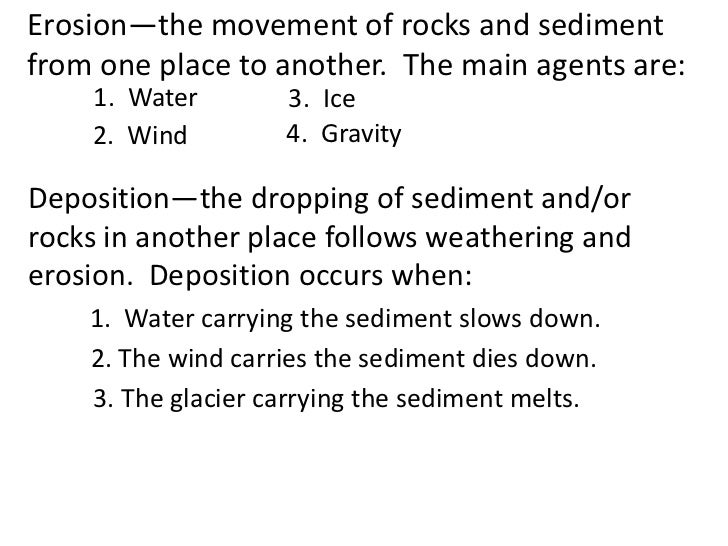 All Worksheets Weathering Erosion And Deposition Worksheets – Erosion and Weathering Worksheets