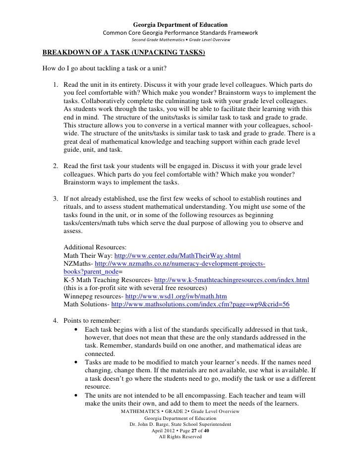 Teacher Overview