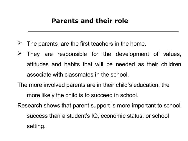 teacher is more important than parents This post was written by jenna k, a teacher in san francisco: getting parents   this has truly been more important than grades for k-8 students plus, parents.