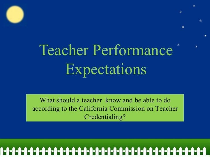 expectations of a teacher A study of over 4000 students has revealed their success was influenced by the expectations of the people teaching them.