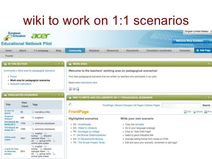 Collaborative Teaching Wiki : Teachers collaboration network