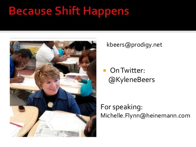 kbeers@prodigy.net  OnTwitter: @KyleneBeers For speaking: Michelle.Flynn@heinemann.com