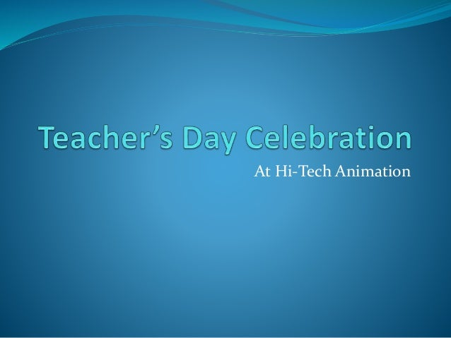 At Hi-Tech Animation