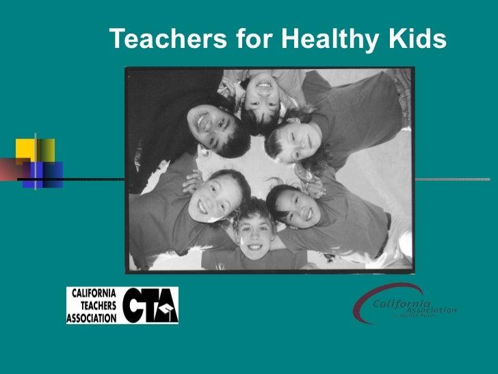 Teachers for Healthy Kids