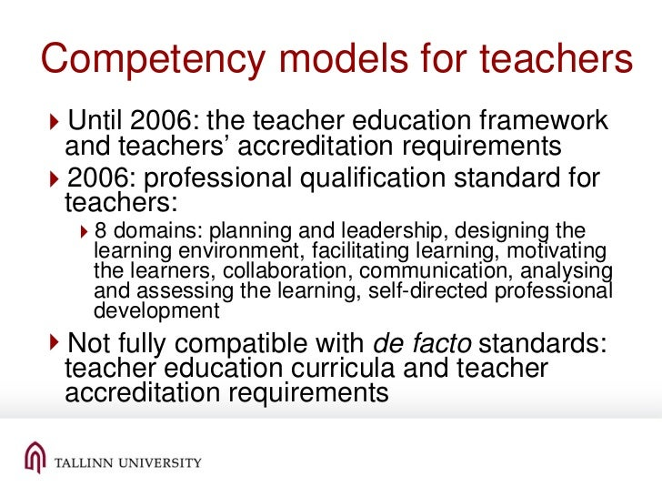ict competencies of teachers