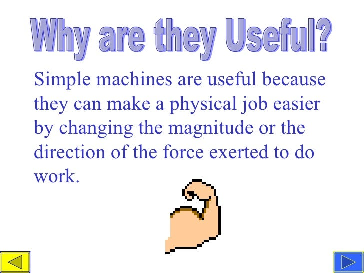 Teacher Simple Machine Powerpoint – Work and Simple Machines Worksheet