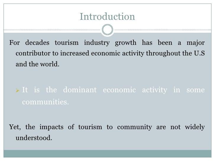 Teacher slides to reduce impact of tourism Slide 2