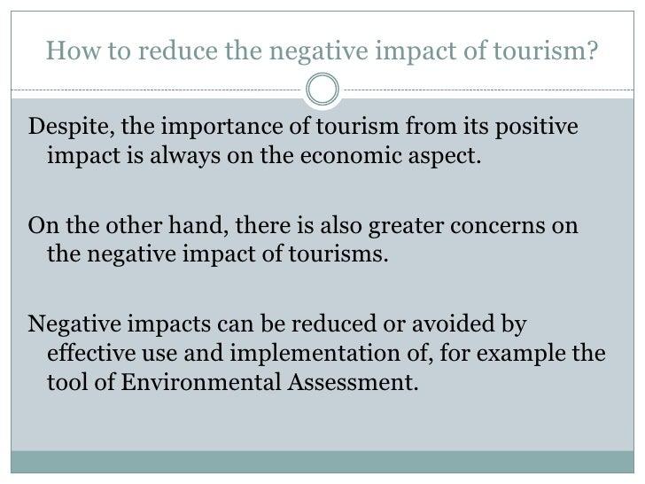 The positive impact of tourism in dubai tourism essay