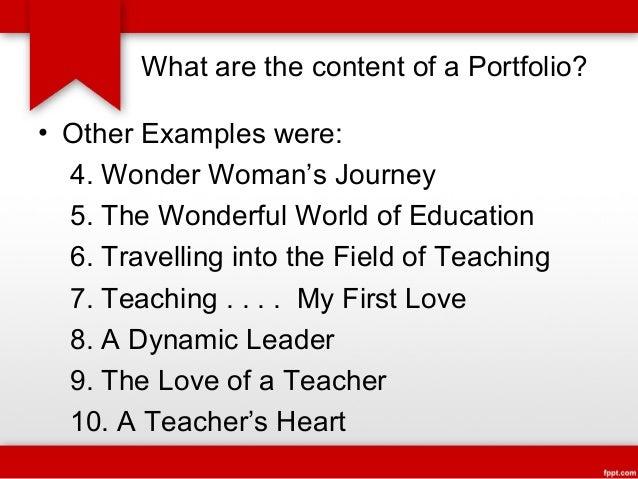 teacher u0026 39 s portfolio