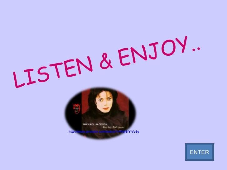 LISTEN & ENJOY.. ENTER http://www.youtube.com/watch?v=D2jSiY-Vo8g