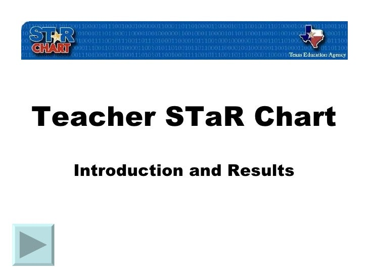 Teacher STaR Chart Introduction and Results