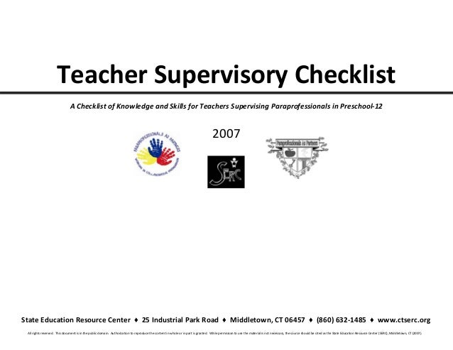Collaborative Teaching Checklist ~ Knowing your strengths to foster collaboration handout