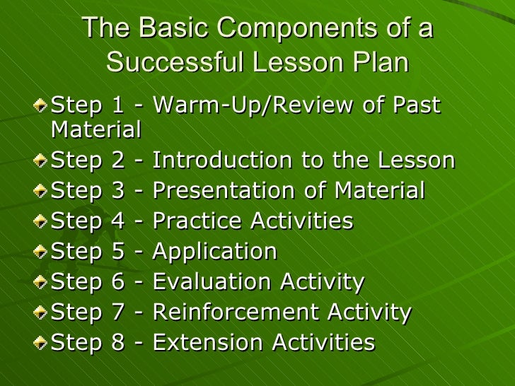 the steps in creating an effective lesson plan How to create an effective lesson plan 1  depth, step-by-step method for creating your unit and daily lesson plans and provide you a planner to create a unit, unit .